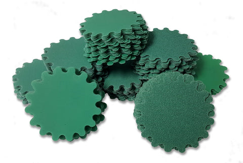 Green Wave Sanding Discs, 1-inch - package of 25