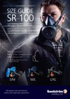 Sundstrom SR100 Half Mask Respirator with SR510 Particulate Filter and 10 Pre-filters