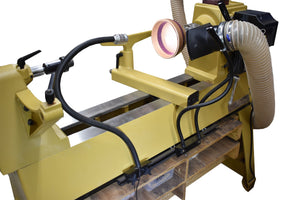 flexible dust collect on lathe track