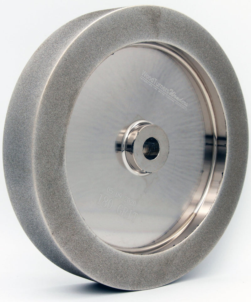 "Mega Square 8"" CBN Wheel, 3/4"" arbor"
