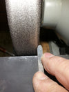 sharpening with Radius Edge cbn wheel