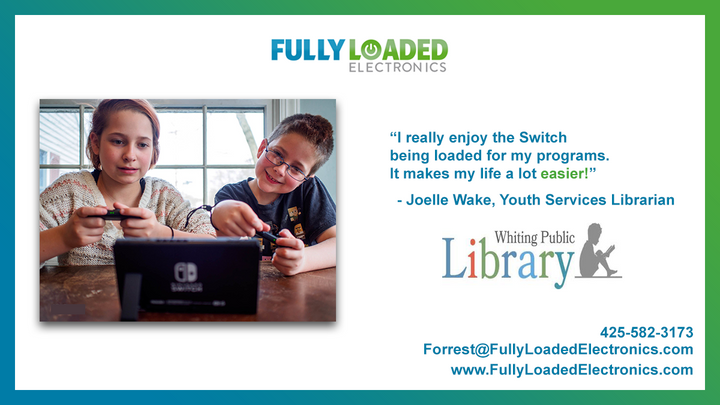 Fully Loaded Electronics In Your Library