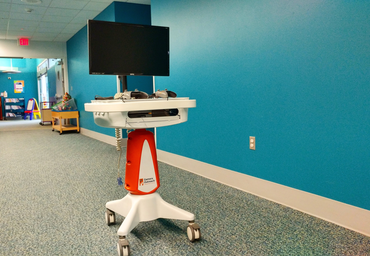 We Secure your Hospital's Fully Loaded Gaming Systems!