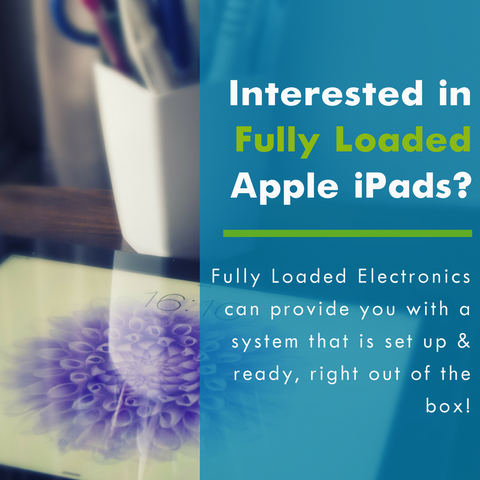 Interested in Fully Loaded Apple iPads?