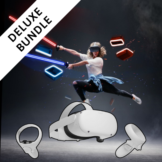 Oculus Quest 2 Deluxe Bundle