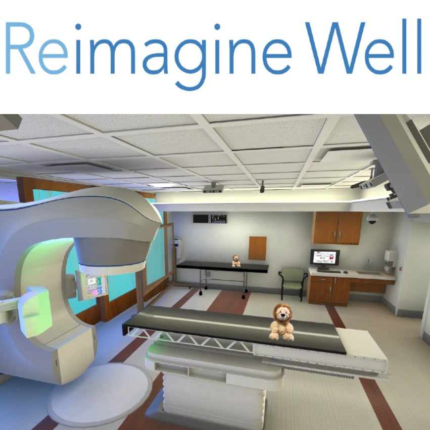 Reimagine Well Virtual Reality MRI/Radiation Room And Infusionarium
