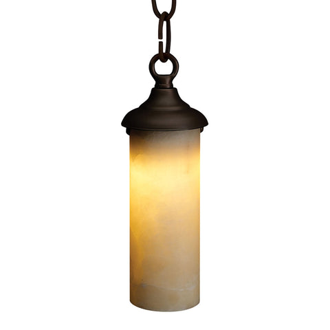 SPJ Lighting - Brass and onyx hanging LED pendant - SPJ-HOL-H2
