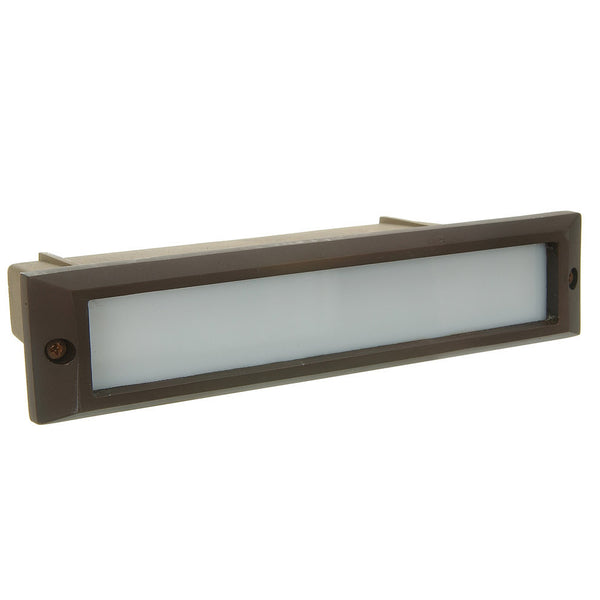 SPJ Lighting Brass Recessed Step Light SPJ17 09OW