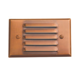 SPJ17-02 LED Recessed Step Light Cover in Matte Bronze