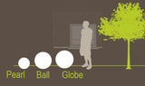 Smart and Green Cordless Portable LED Ball Series Lamps - diagram