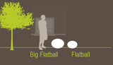Smart and Green Cordless Portable LED Flatball Series Lamps - diagram