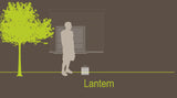 Smart and Green Cordless Portable Lantern Lamp - diagram