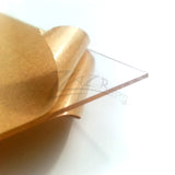 "6""X6""x1/32"" Super Thin Acrylic CLEAR Sheet (1mm)"
