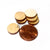 "1/2 LB BULK BAG 1/2"" x 1/8"" - (half-pound) Small Solid Wooden Circles Craft Disc Shapes DISCOUNTED!"