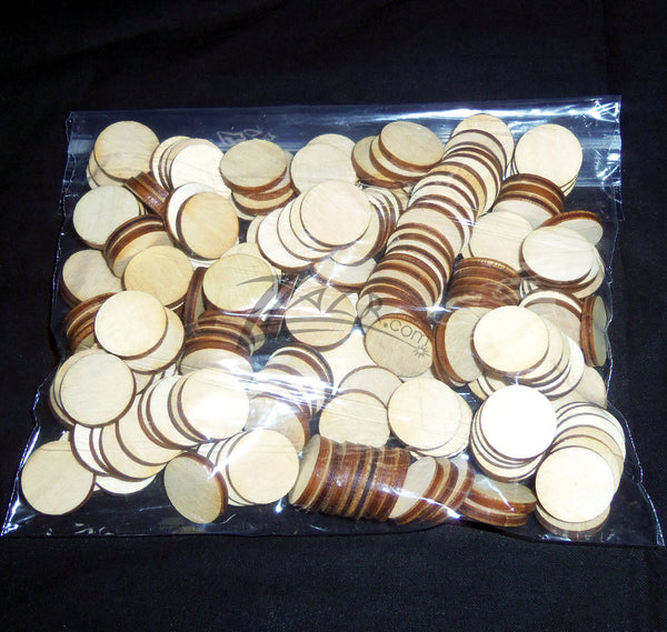 3 8 Quot X1 8 Quot Wooden Circle Disc Tag Family Birthday Date