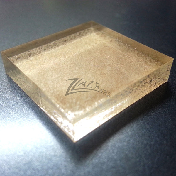 50 Or 100 1 Quot X1 4 Quot Clear Acrylic Squares Mineral Gem Base