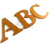"3"" ABC Letters 1/8"" Thick Clear Acrylic (26 alphabet letters)"
