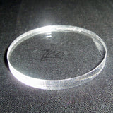 "CIRCLE LARGE 1-1/2"" x 3/16"" THICK Clear Acrylic Plastic Plexiglass Geometric 1.5"""