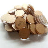 "ON SALE BULK 1/2 LB Acrylic 1/2""x1/4"" BAG Small Acrylic Circles Disc DISCOUNTED!"