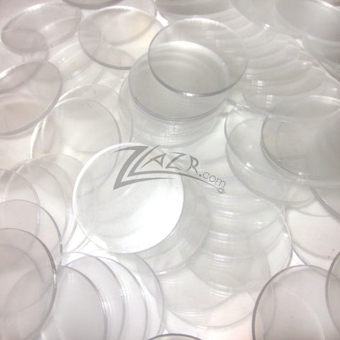 Clear Acrylic Circles Disc 100 1 8 Quot Thick Craft Plastic