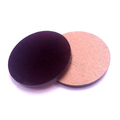 "Purple 1.25"" x 1/8"" Circles Acrylic Disc Pendants"