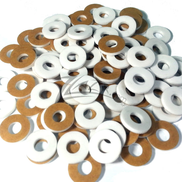 Washer Thin Circles 3 4 Quot X1 16 Quot White 5 16 Quot Hole Color