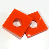 "Washer SQUARES 3/4""x1/8"" Color Acrylic and 5/16"" HOLE"
