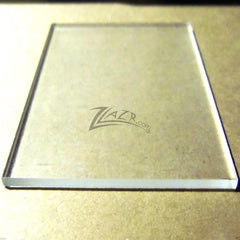 "8""x10""x1/4"" THICK CLEAR Acrylic Sheet"