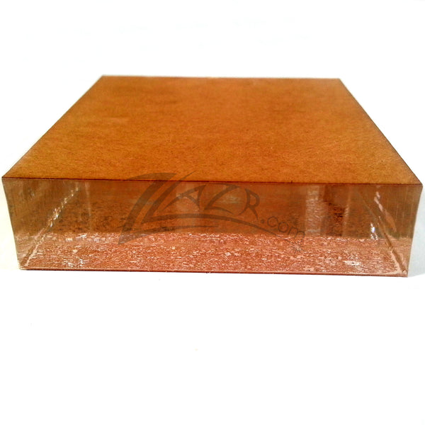 4 Quot X4 Quot X1 2 Quot Thick Slab Small Clear Acrylic Sheet Slab