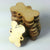 "1"" x 1/8"" Wood Custom Dog Bones 2-Holes"
