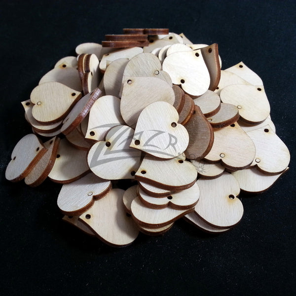 1 Quot 1 1 4 Quot And 1 1 2 Quot X 1 8 Quot Wooden Circle Disc Tag 2 Hole