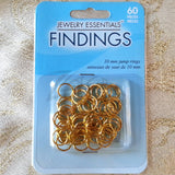 Accessories - Jewelry Jump Rings 10mm X 18ga Gold Tone