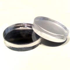 "SALE! 1/2"" x 1/4"" MIRROR Circles Acrylic Disc"