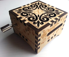 Music Box - Open Scroll Top - Personalized!