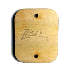 "Wood BLANKS Retangle (1/8"") 1""x1-1/4"" Birthday 2 hole 12 Month Calendar Letters - PORTRAIT Style"
