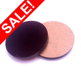 "SALE! Purple .625"" x 1/8"" Circles Acrylic Disc Pendants (5/8"") - ON SALE"