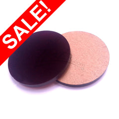 "SALE! Purple .5"" x 1/8"" Circles Acrylic Disc Pendants (1/2"") - ON SALE"
