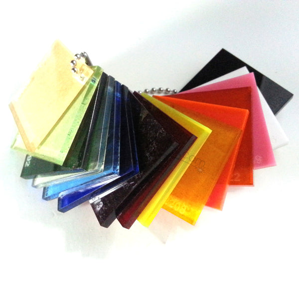 Sample Acrylic 1 5 Quot X 1 5 Quot X 1 8 Quot Color Swatch Piece S