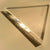 "2"" x 2"" x 1/4"" Equilateral Triangle Clear Acrylic Plastic Plexiglass"
