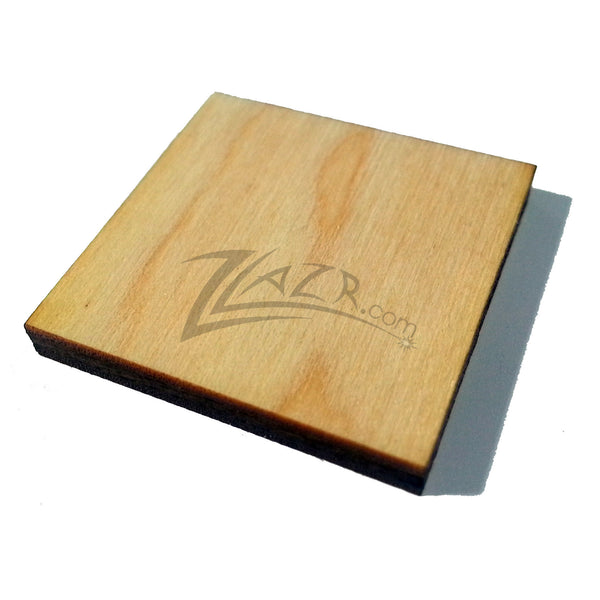 1 2 Quot X 1 2 Quot X 1 8 Quot Nominal Thickness Wooden Square Tag
