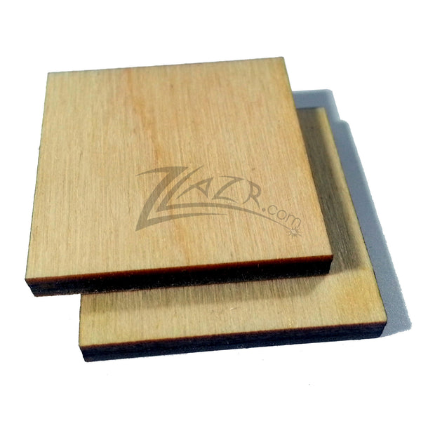 7 8 Quot X 7 8 Quot X 1 8 Quot Nominal Thickness Wooden Square Tag