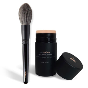 Limited Edition Brush with Deep Cleanser