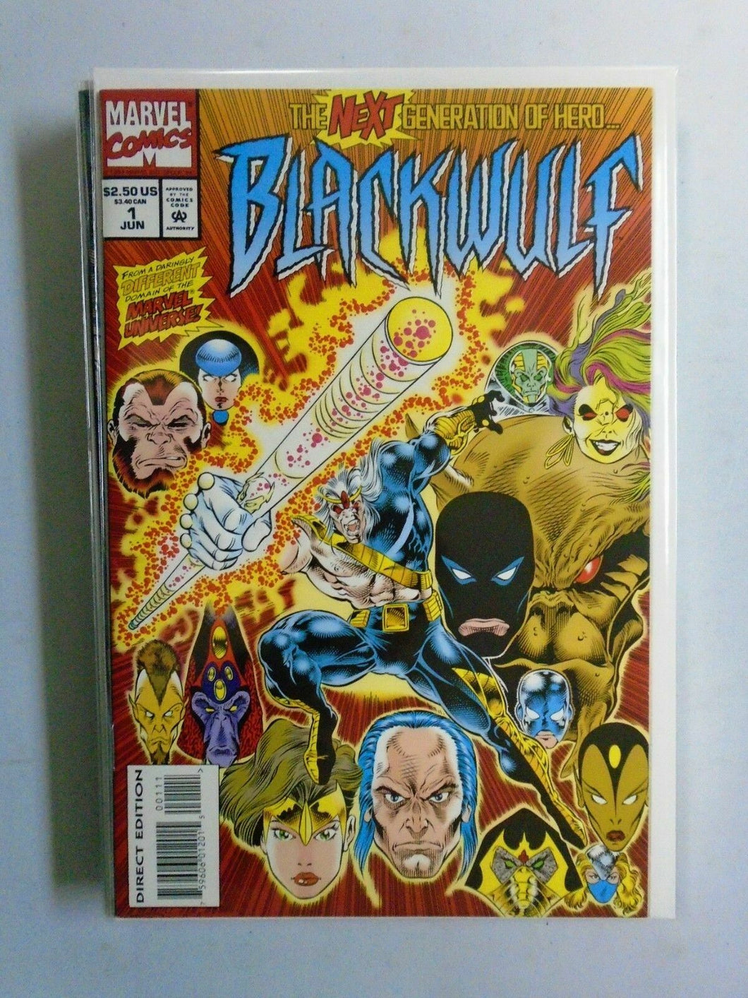Blackwulf, Set:#1-10 Average 8.0/VF (1994)