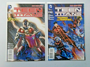 Teen Titans lot:#1-19 4th Series NEW 52 18 different 8.0 VF (2011)