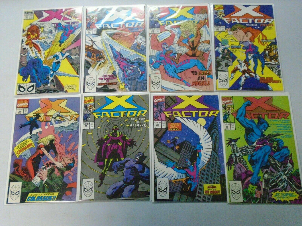 X-Factor comic lot 43 different from #50-100 8.0 VF (1990-94 1st Series)
