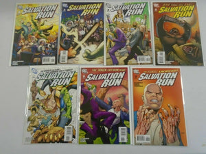 Salvation Run set #1-7 8.0 VF (2007)