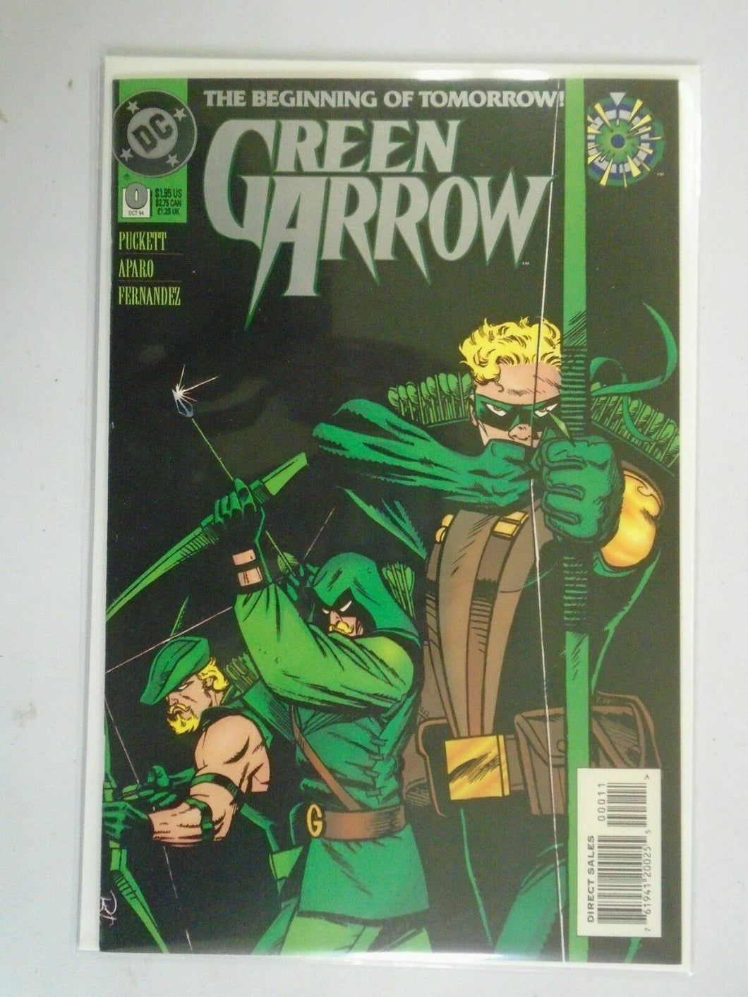 Green Arrow #0 8.0 VF (1994 1st Series)