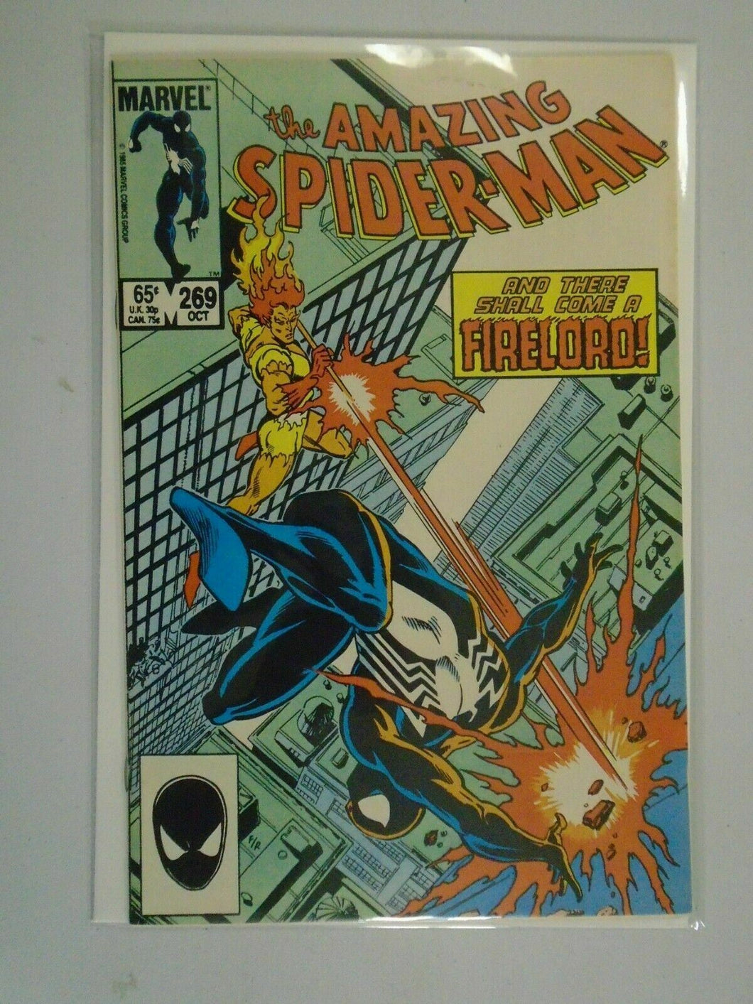 Amazing Spider-Man #269 Direct edition 7.5 VF- (1985 1st Series)