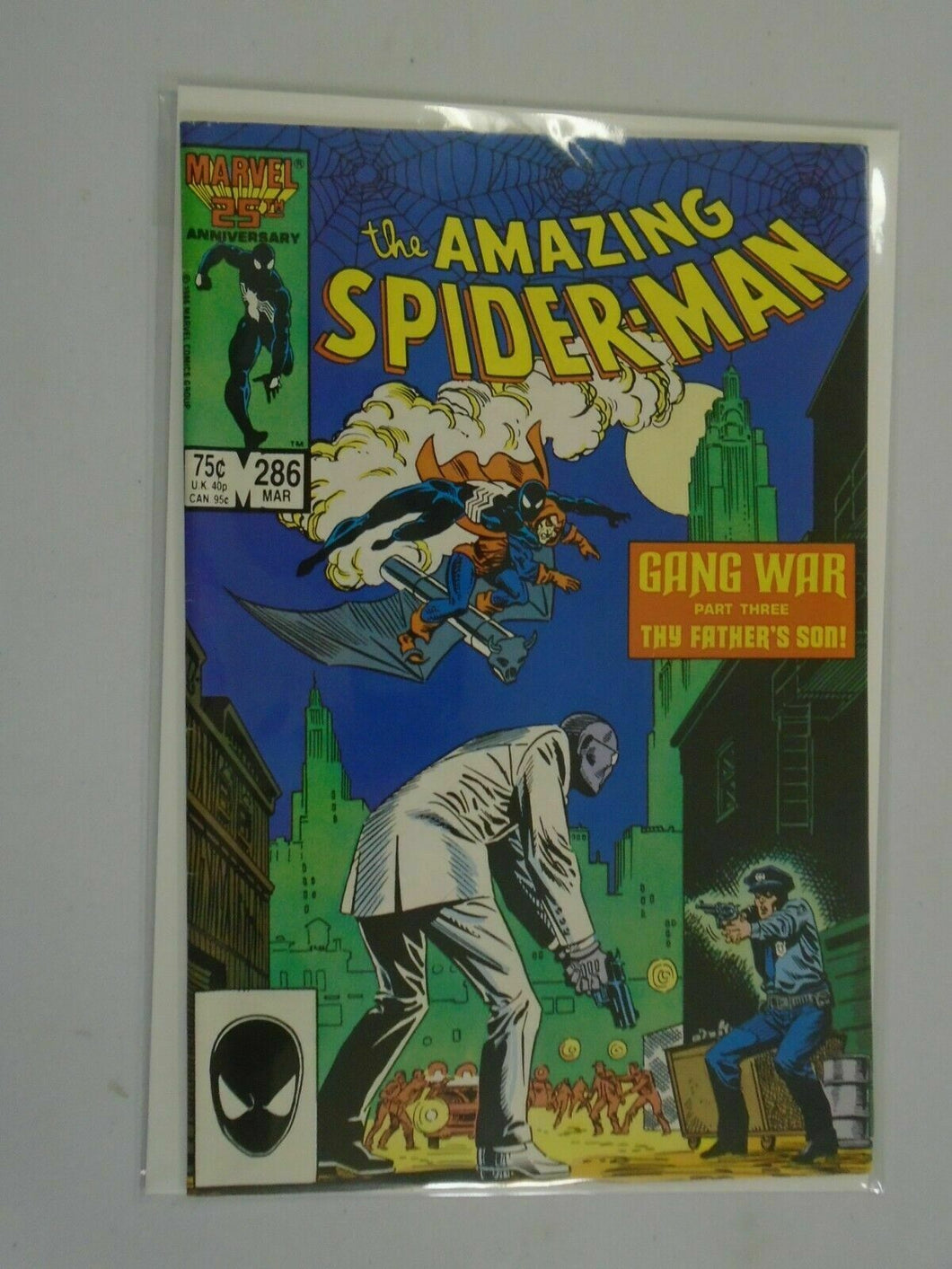 Amazing Spider-Man #286 Direct edition 6.0 FN (1987 1st Series)