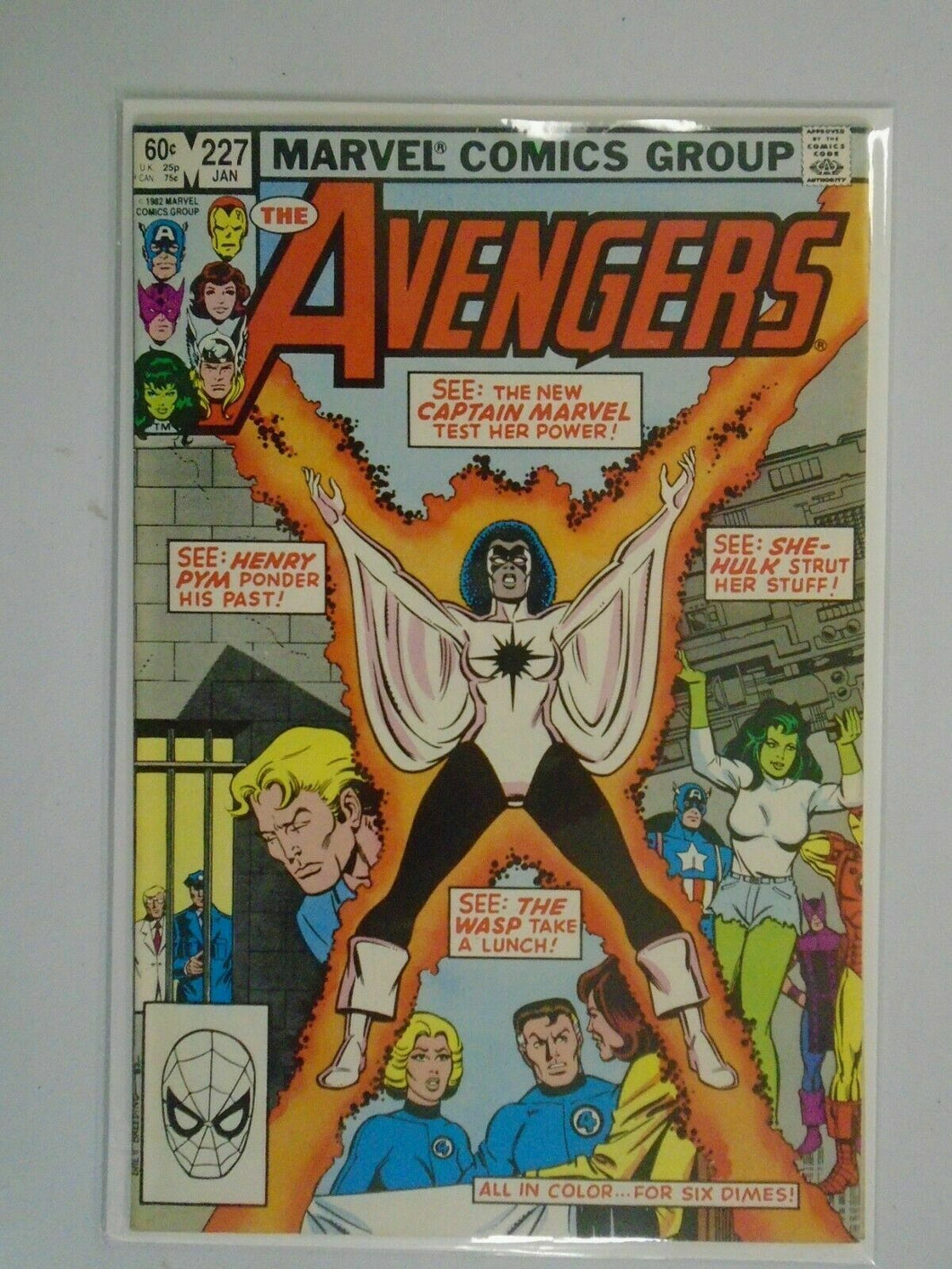 Avengers #227 Direct edition 6.5 FN- (1983 1st Series)